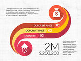 Infographics: Curved Infographic Shapes #03710