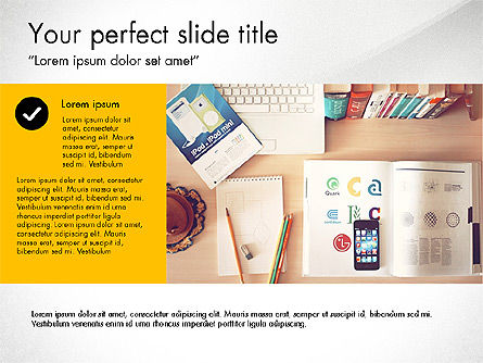 Presentation Templates: Graphic Designer Profile #03712