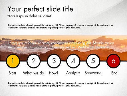 Graphic Designer Profile, Slide 2, 03712, Presentation Templates — PoweredTemplate.com