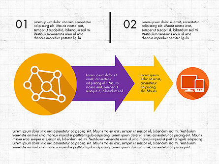 Process Infographics, Slide 3, 03713, Process Diagrams — PoweredTemplate.com