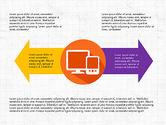Process Diagrams: Werkwijze infographics #03713
