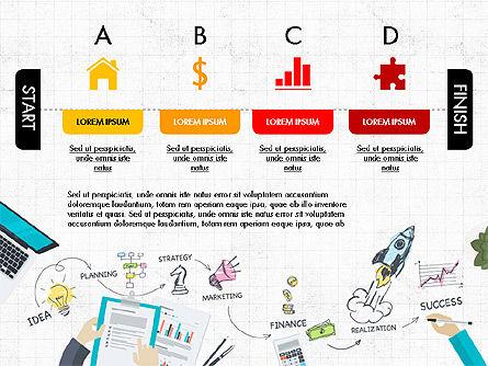 Startup Pitch Deck Concept, Slide 2, 03715, Presentation Templates — PoweredTemplate.com