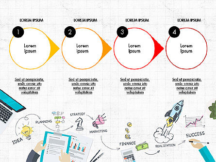 Startup Pitch Deck Concept, Slide 3, 03715, Presentation Templates — PoweredTemplate.com
