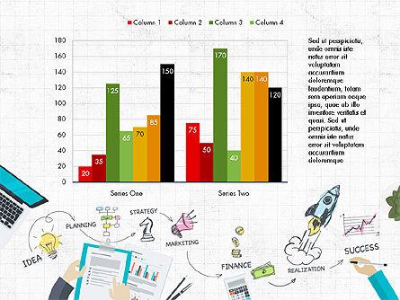 Startup Pitch Deck Concept, Slide 4, 03715, Presentation Templates — PoweredTemplate.com
