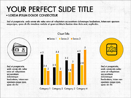 Presentation Templates: Icons and Histograms Report #03717