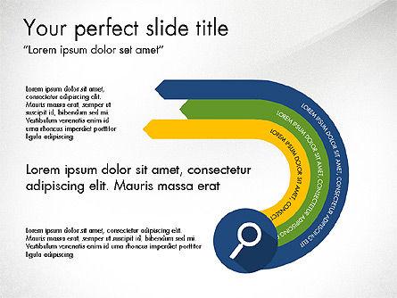 Report with Material Design Icons, Slide 2, 03719, Icons — PoweredTemplate.com