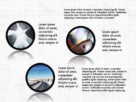 Hub and Spokes Presentation Concept, Slide 2, 03721, Presentation Templates — PoweredTemplate.com