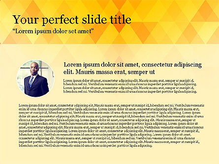 Brief Report, Slide 2, 03726, Presentation Templates — PoweredTemplate.com