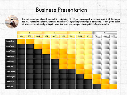 Comparative Report, Slide 3, 03731, Presentation Templates — PoweredTemplate.com