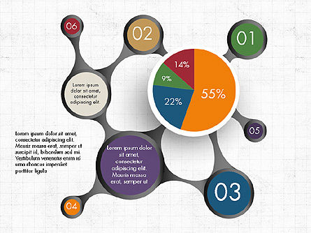 Hub and Pie Chart Slide 2