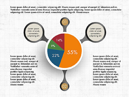 Hub and Pie Chart Slide 3