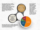 Pie Charts: Hub and Pie Chart #03735