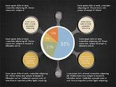 Hub and Pie Chart#13