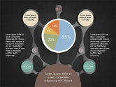 Hub and Pie Chart#16