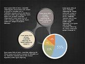 Hub and Pie Chart#9