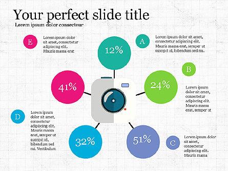 Simply Business Presentation Template, Slide 2, 03738, Icons — PoweredTemplate.com