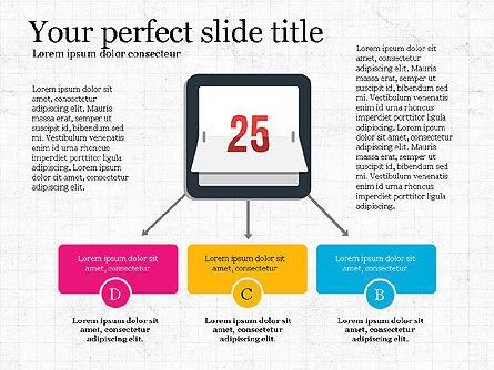 Simply Business Presentation Template, Slide 3, 03738, Icons — PoweredTemplate.com