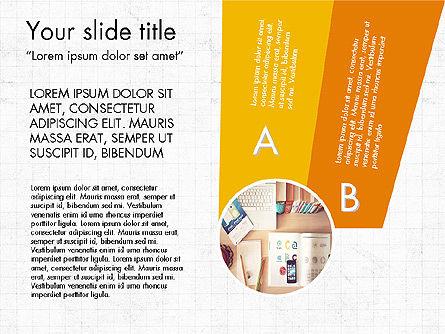 Infographics Options, Slide 4, 03741, Infographics — PoweredTemplate.com