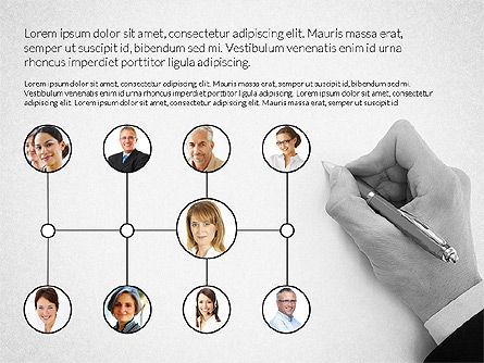 Human Resource Management, Slide 4, 03747, Organizational Charts — PoweredTemplate.com