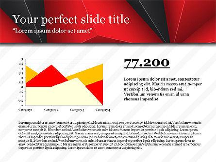 Business Report Presentation Deck, Slide 3, 03751, Presentation Templates — PoweredTemplate.com