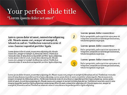 Business Report Presentation Deck, Slide 4, 03751, Presentation Templates — PoweredTemplate.com