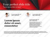 Presentation Templates: Business Report Presentation Deck #03751