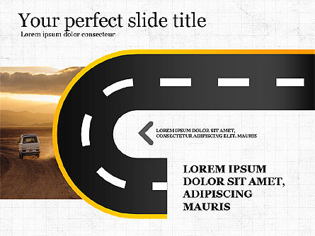 Presentation Templates: Road Report Concept #03753