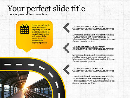 Road Report Concept, Slide 2, 03753, Presentation Templates — PoweredTemplate.com