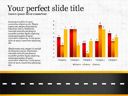 Road Report Concept, Slide 3, 03753, Presentation Templates — PoweredTemplate.com