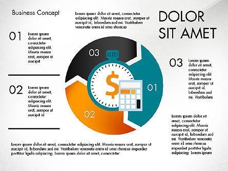 Management Process Presentation Concept, Slide 2, 03759, Process Diagrams — PoweredTemplate.com