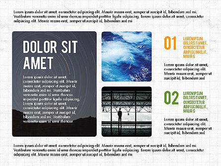 Presentation with Steps, Slide 2, 03765, Presentation Templates — PoweredTemplate.com