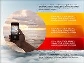 Presentation Templates: Cloudy Slide Deck #03766