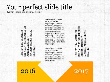 Moving Forward, Slide 4, 03767, Process Diagrams — PoweredTemplate.com
