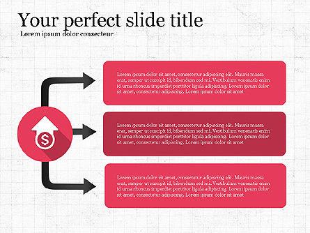 Business Process Flow, Slide 3, 03769, Process Diagrams — PoweredTemplate.com