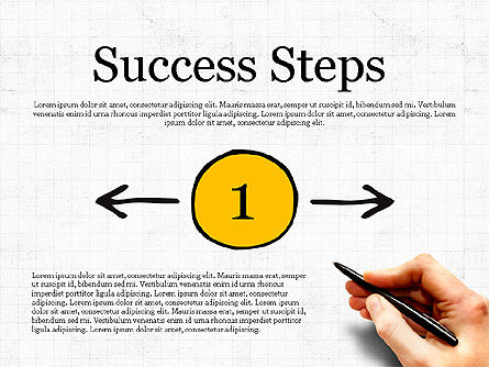 Process Steps, 03773, Process Diagrams — PoweredTemplate.com
