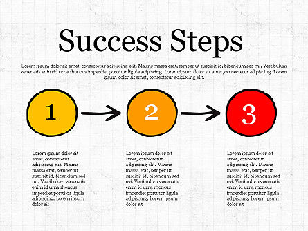 Process Steps, Slide 3, 03773, Process Diagrams — PoweredTemplate.com