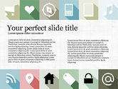 Presentation Templates: Grid Layout Presentation with Icons #03774