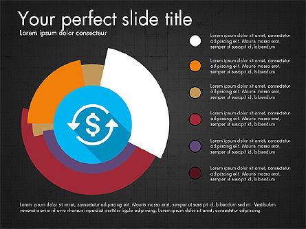 Multilevel Pie Chart, Slide 10, 03775, Pie Charts — PoweredTemplate.com