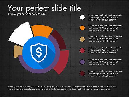 Multilevel Pie Chart, Slide 12, 03775, Pie Charts — PoweredTemplate.com