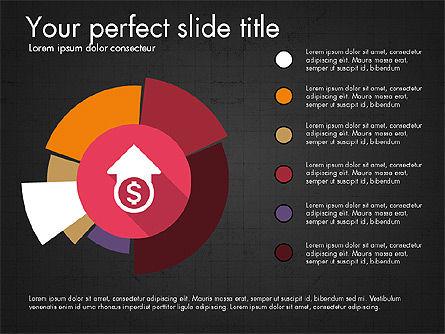 Multilevel Pie Chart, Slide 13, 03775, Pie Charts — PoweredTemplate.com