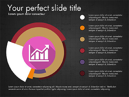 Multilevel Pie Chart, Slide 14, 03775, Pie Charts — PoweredTemplate.com