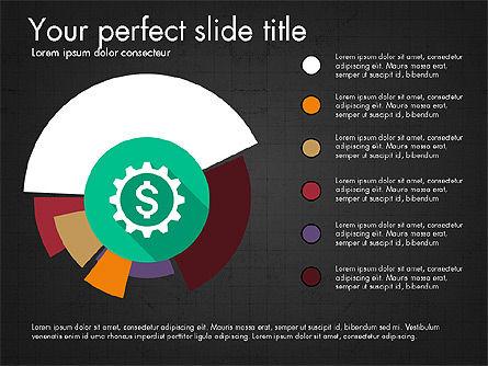 Multilevel Pie Chart, Slide 15, 03775, Pie Charts — PoweredTemplate.com