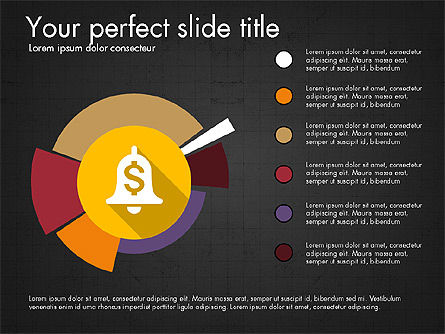 Multilevel Pie Chart, Slide 16, 03775, Pie Charts — PoweredTemplate.com