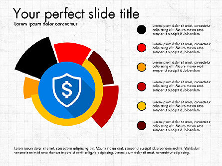 Multilevel Pie Chart, Slide 4, 03775, Pie Charts — PoweredTemplate.com