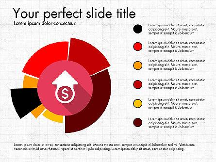 Multilevel Pie Chart, Slide 5, 03775, Pie Charts — PoweredTemplate.com