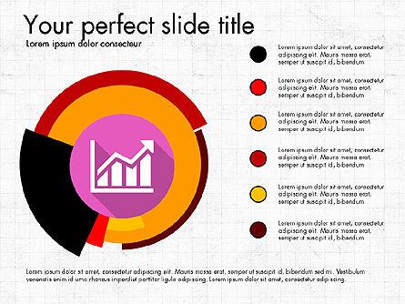 Multilevel Pie Chart, Slide 6, 03775, Pie Charts — PoweredTemplate.com
