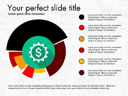 Multilevel Pie Chart, Slide 7, 03775, Pie Charts — PoweredTemplate.com