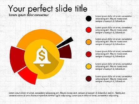 Multilevel Pie Chart, Slide 8, 03775, Pie Charts — PoweredTemplate.com