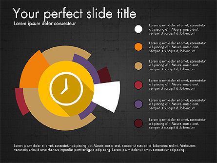 Multilevel Pie Chart, Slide 9, 03775, Pie Charts — PoweredTemplate.com
