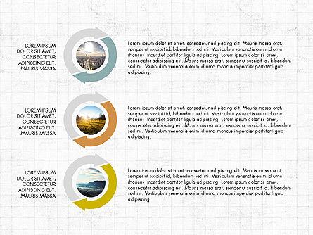 Process Circles, Slide 2, 03780, Process Diagrams — PoweredTemplate.com